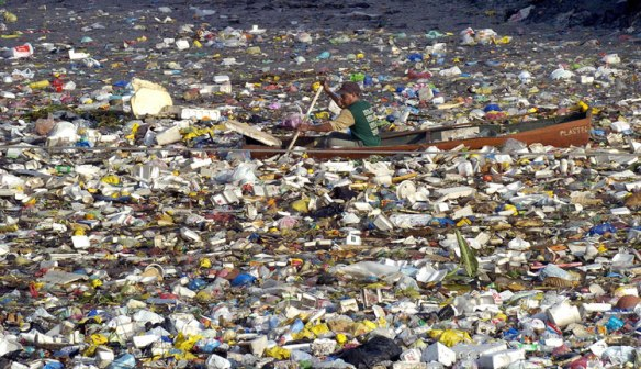 The Great Pacific Garbage patch        Source: www.localphilosophy.org
