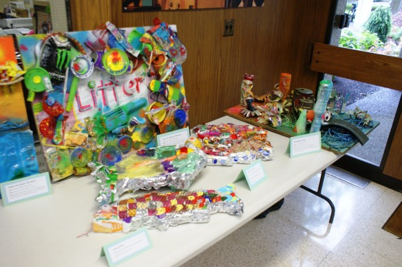 Student Litter Art: from trash to treasure!