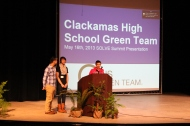Clackamas HS afterschool Green Team club talks about their activities throughout the year